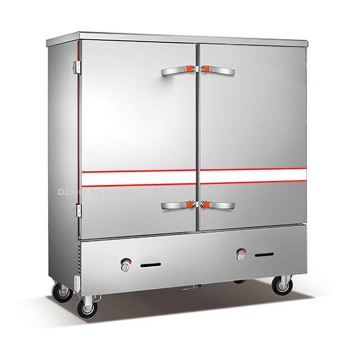 Tủ nấu cơm công nghiệp 24 khay gas (1)