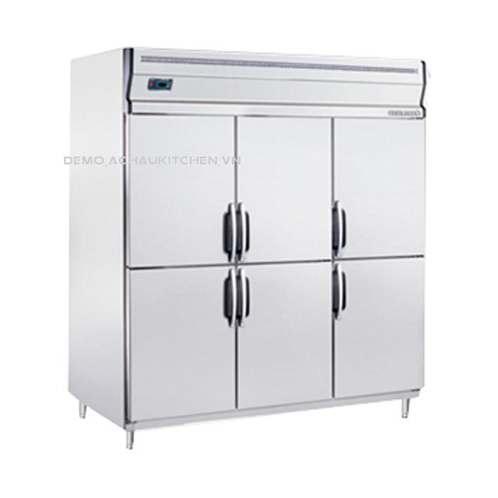 Tủ bảo quản thực phẩm, tủ đông 6 cánh inox BS 6DUC/C (1)